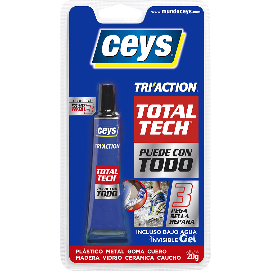 TOTAL TECH TRI ACTION 10 G CEYS