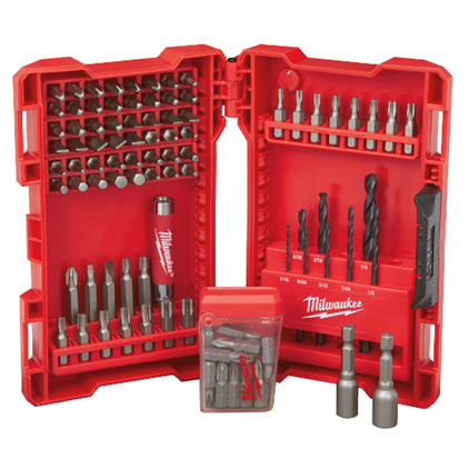 SET PUNTA ATORNILLADOR 95 PZAS MILWAUKEE 48-89-1561